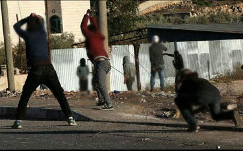 Jerusalem: Israeli security forces fire teargas at Palestinian protesters