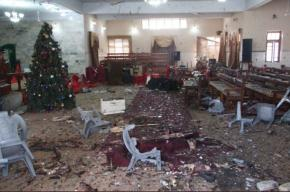 The church in the city of Quetta after the attack (Twitter, December 17, 2017)