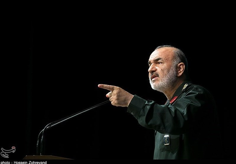 Deputy Commander of the IRGC, Hossein Salami (Tasnim, December 11, 2017)