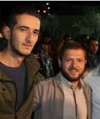 Ahmed Isma'il Jarar (left) with his cousin, Ahmed Nasr Jarar, who apparently escaped (Palinfo, January 18, 2018).