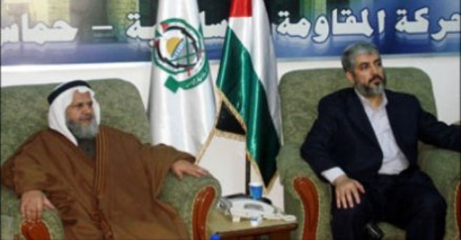 Khaled Mashaal, head of Hamas' political bureau during a meeting of Arab political parties in Damascus where he told a number of senior figures that most of the money received by Hamas and most of its efforts were directed towards its military buildup (Filastin al-A'an, November 12, 2009).
