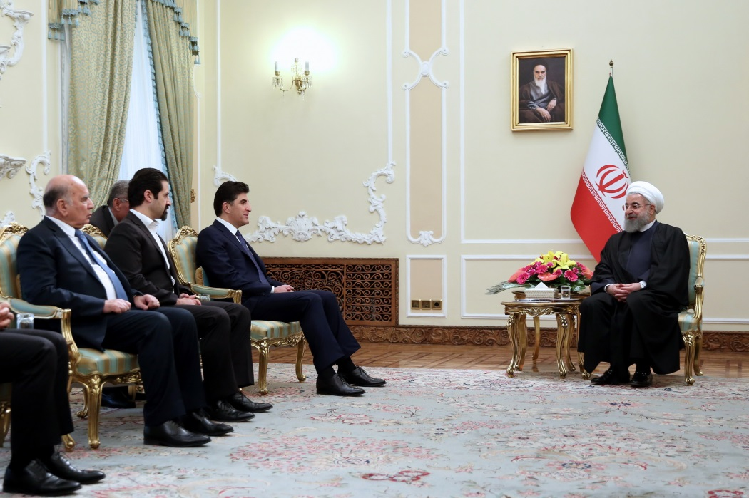 The Rouhani-Barzani meeting (website of the presidency, January 21, 2018)