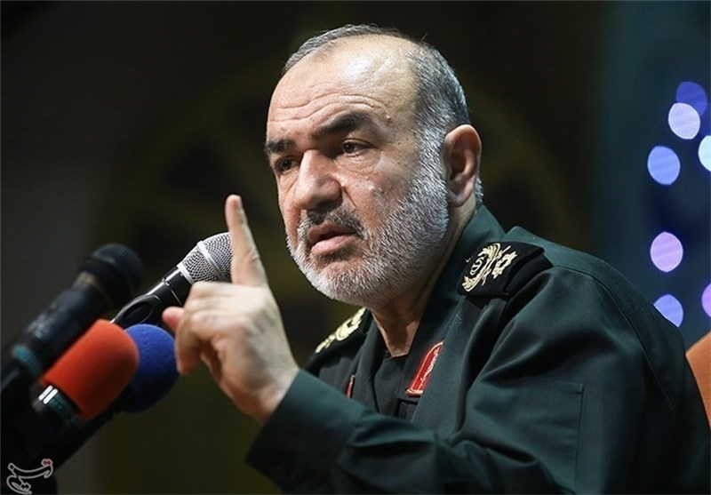 Hossein Salami, the Deputy Commander of the IRGC. Iran can