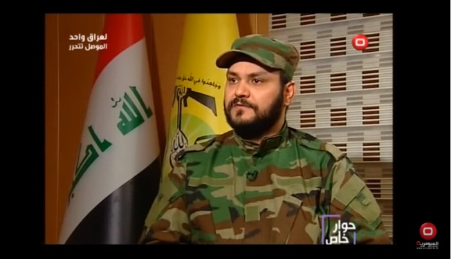 Sheikh Akram al-Kaabi, secretary general of the Movement of the Noble Ones, interviewed by an Iraqi channel (Alsumaria TV on YouTube, November 6, 2016).