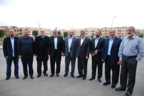 Hamas delegation in Egypt (Twitter account of the Hamas movement, February 22, 2018).