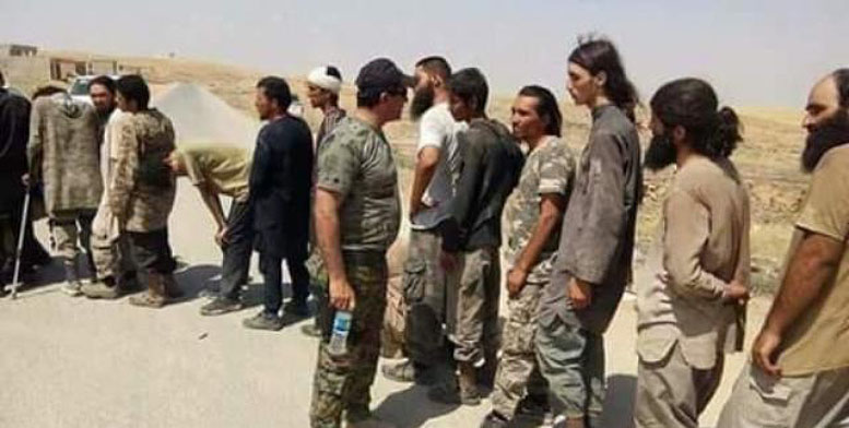 ISIS operatives detained in Mosul (Iraqi News Agency, February 25, 2018)