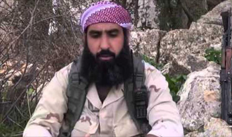 Abu Humam al-Shami while he served as the general military commander of the Al-Nusra Front (Al-Jazeera, March 6, 2018)