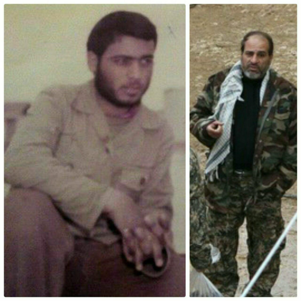 The IRGC officer killed in Syria (Fars, February 19 2018).