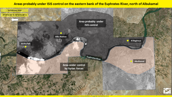 The Establishment of ISIS in Syria in the Lower Euphrates