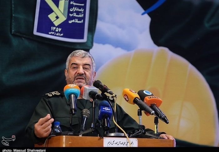 The Commander of the IRGC in a speech in front of the Assembly of Experts (Tasnim, March 13 2018).