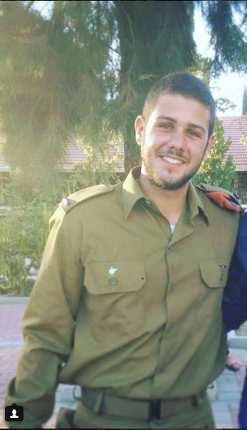 Sergeant Netanel Kahalani (right) and Captain Ziv Daos (left), two IDF soldiers killed in a vehicular attack on Route 585 between the communities of Mevo Dotan and Hermesh on March 16, 2018 (Facebook page of Shai Mashiah, a close friend of Netanel Kahalani, March 17, 2018; Instagram account of Ziv Daos, June 23, 2017).