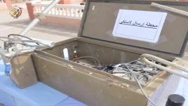 Wireless broadcasting station found by the Egyptian army (official Facebook page of the Egyptian armed forces, March 18, 2018)