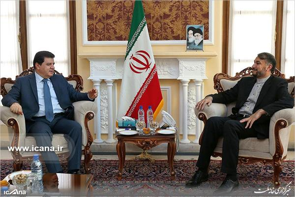 The meeting between the adviser to the chairman of the Majlis with the Syrian ambassador to Tehran (icana.ir, March 19, 2018)