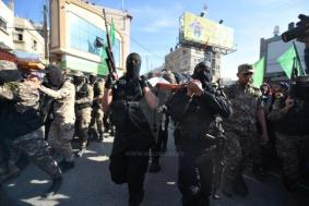 The funeral held in Khan Yunis for Fares al-Raqab, a Palestinian Islamic Jihad operative (Paltoday, April 2, 2018).