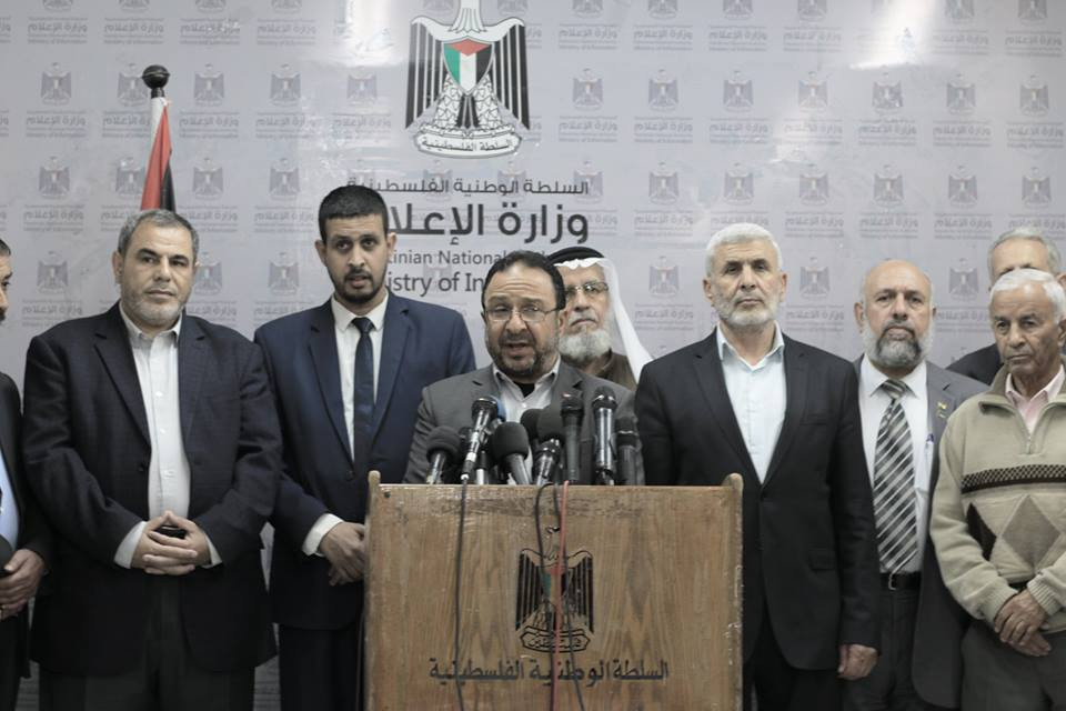Nizar Hijazi, Hamas-affiliated mayor of Gaza City and chairman of the Gazan municipalities' association, warns of a collapse of the services of the municipalities in the Gaza Strip (Facebook page of the Gaza City municipality, April 11, 2018).