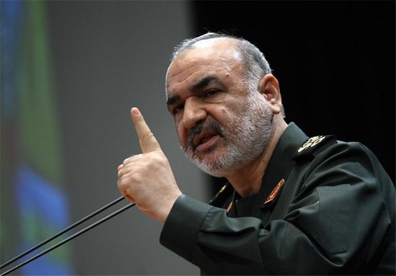 The Deputy Commander of the IRGC, Hussein Salami (Tasnim, April 20, 2018)