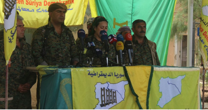 SDF announcing the launch of Operation Island Storm (SDF website, May 1, 2018)