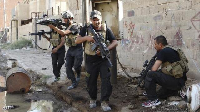 Iraqi security forces during a security activity (Iraqi News Agency, April 29, 2018)