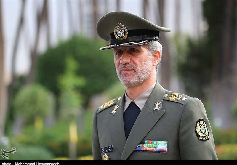 Iran's Minister of Defense, Amir Hatami (Tasnim, May 1, 2018)