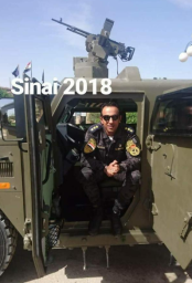Naqib (Captain) Abdel Majid Mostafa al-Mahi, officer of the Central Security Forces in Sinai, killed by an ISIS IED in the area of Al-Arish.