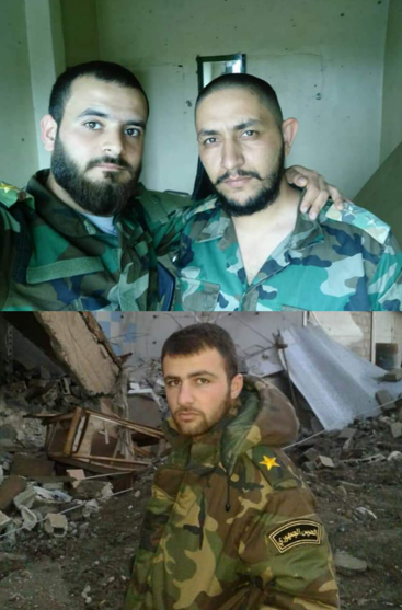 Three Syrian officers, with the ranks of lieutenant and second lieutenant, killed in an attack by ISIS operatives against their position in the Al-Mayadeen Desert (Twitter, May 24, 2018).