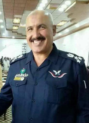 Mohammad Hamash al-Jabouri, Police Commander of the Al-'Elem District (Islam Chali @IslamPeshmerga Twitter account, May 26, 2018)