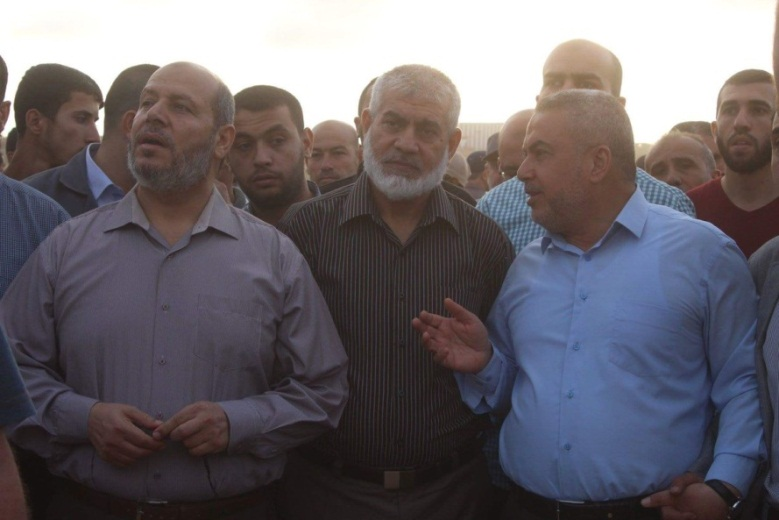 Senior Hamas figures at the