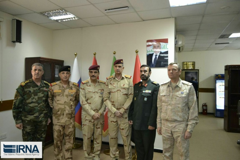 The quadrilateral meeting in Baghdad (IRNA, June 14, 2018)