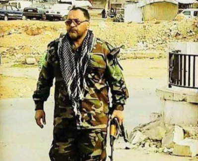Shahrakh Dai Poor, commander in the Iranian Revolutionary Guards who had been killed in the area of Albukamal (SufianSamarrai@ Twitter account, June 23, 2018).