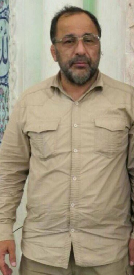 Amid (Brigadier General) Shahrakh Dai Poor, commander in the Iranian Revolutionary Guards who had been killed in the area of Albukamal (Bani_Omaia@ Twitter account, June 22, 2018)