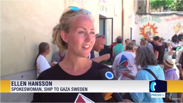Ellen Hansson (Press TV YouTube channel, July 22, 2018).