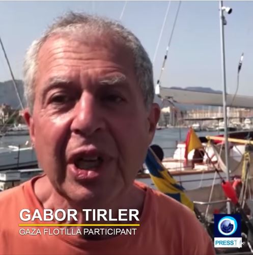 Gabor Tiroler (from an article by Richard Sudan, from the Press TV Facebook page, July 21, 2018).