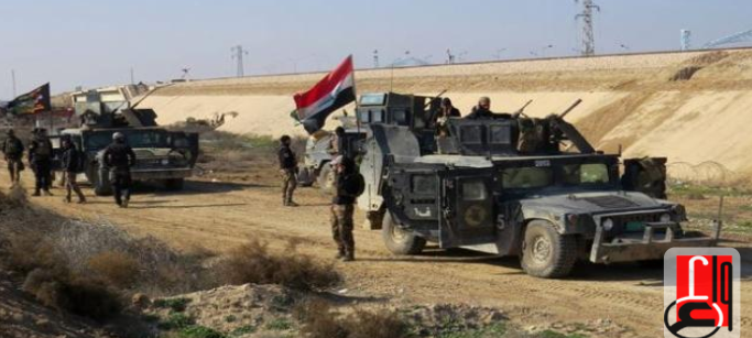 The Iraqi troops during security activity (Iraqi News Agency, August 10, 2018)