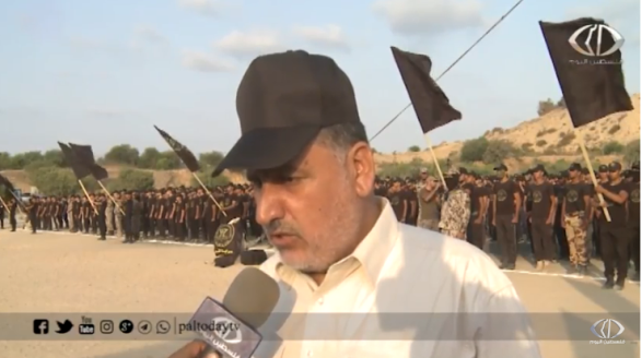 Ahmed al-Mudallal, senior PIJ figure in the Gaza Strip, interviewed during the ceremony (Paltoday YouTube channel, September 1, 2018).