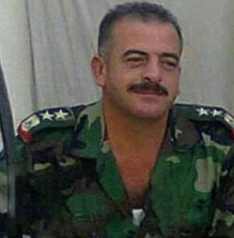 Aqid (Col.) Hassan Mohammad Yusuf, killed when an ISIS IED exploded on the outskirts of Albukamal (Deir ez-Zor 24 Twitter account, August 31, 2018)
