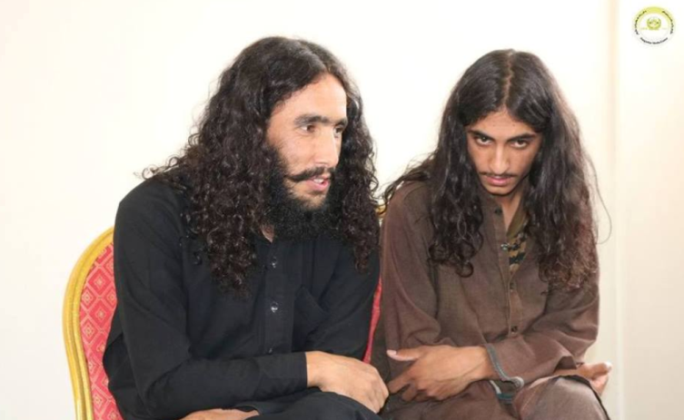 Two ISIS commanders who surrendered to the Afghan Intelligence in the Nangarhar District (www.khaama.com, September 2, 2018)