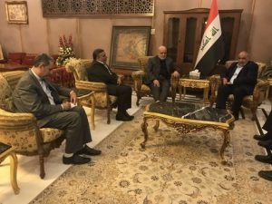The meeting of the Iranian ambassador to Iraq with the Iraqi prime minister-designate (ISNA, October 9 2018).