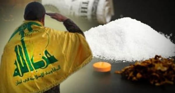 Posters published on social media denouncing Hezbollah for being involved in drug trafficking (Saad al-Khudary's Twitter account, October 16, 2018)