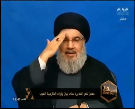 Hassan Nasrallah announces in his speech (November 20, 2017) that his organization supplied Kornet missiles to the Gaza Strip and he is proud of that (YouTube, November 13, 2018)