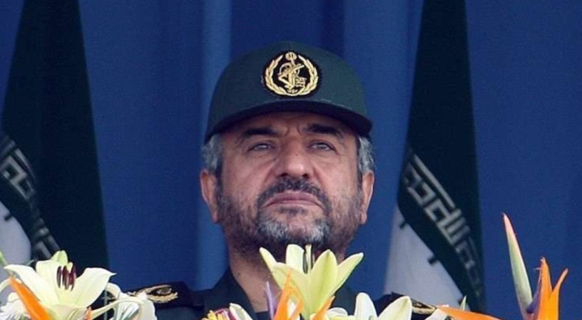 Iranian Revolutionary Guards Commander Mohammad Ali Jaafari (Muraselon, November 16, 2018)