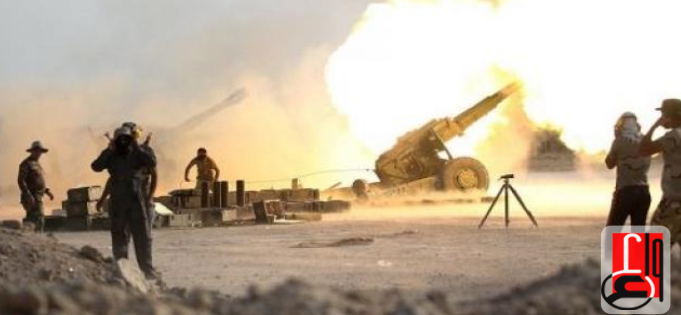 Iraqi army artillery fire at ISIS targets in Syria, near the border with Iraq (Iraqi News Agency, November 25, 2018)