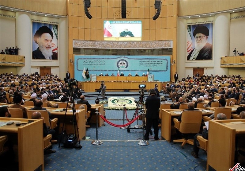 The Islamic Unity Conference in Tehran (Tasnim, November 24 2018).