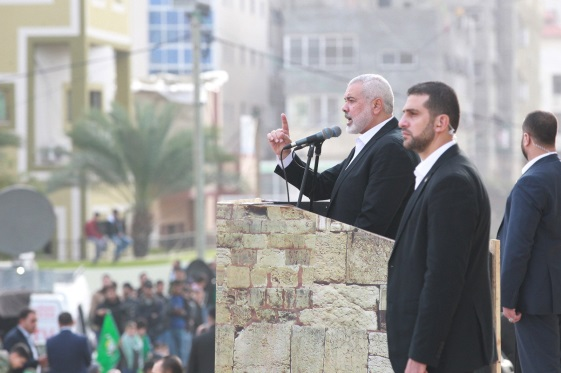 -Isma'il Haniyeh gives a speech (Palinfo, December 16, 2018).