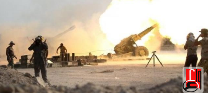 Iraqi army artillery fire at ISIS targets in Syrian territory, in the border area (Iraqi News Agency, December 16, 2018)
