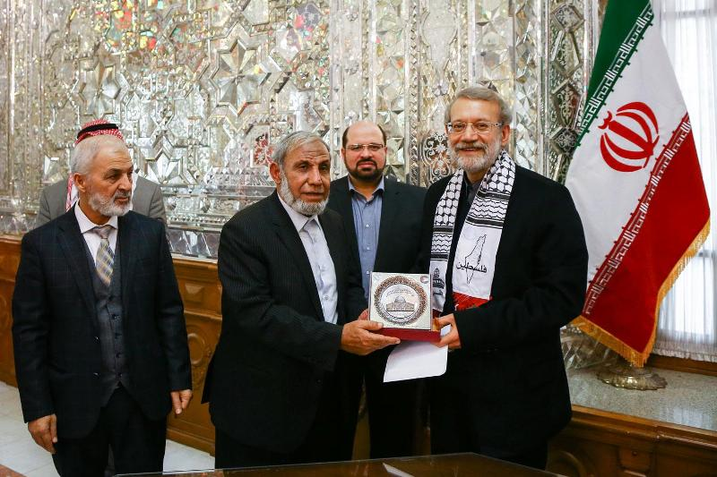 The Hamas delegation meets with Ali Larijani (IRNA in Arabic, December 22, 2018).