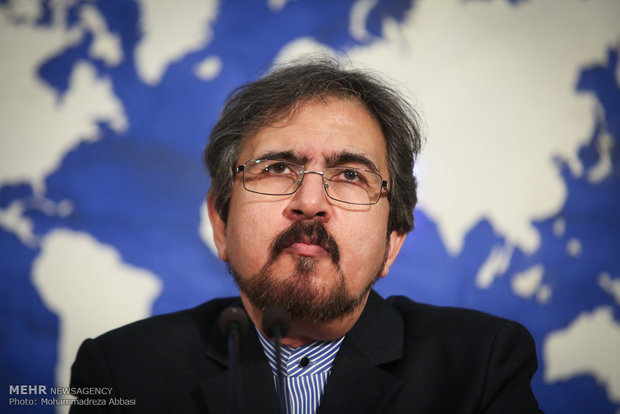 The Spokesman of the Iranian Ministry of Foreign Affairs, Barham Qasemi (Mehr, December 22, 2018)