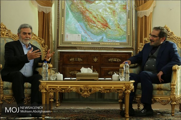 ‏‏Mohammad Javad Zarif meets with Ziyad al-Nakhalah (Fars News Agency in Arabic, December 30, 2018).
