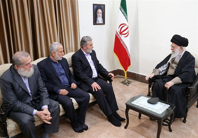 The meeting of the Supreme Leader with the Palestinian Islamic Jihad delegation (Tasnim, December 31, 2018)