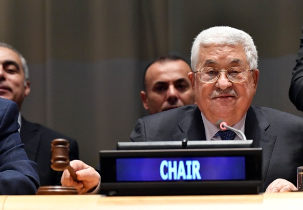 Mahmoud Abbas officially named head of the 77 Group and China by the Egyptian foreign minister, with the participation of the UN secretary general and the president of the UN Security Council (Wafa, January 15, 2019).
