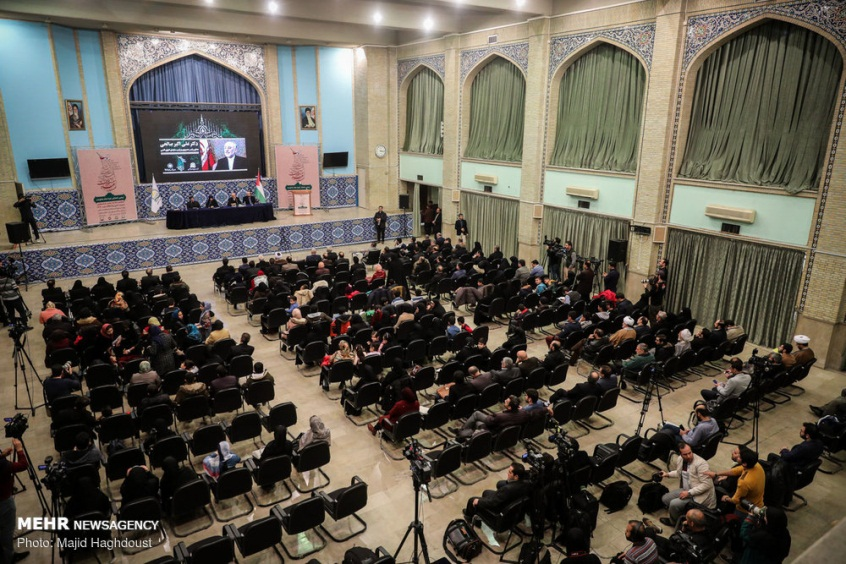 "The conference ""Gaza, a Symbol of Resistance"" in Tehran (Mehr, January 20 2019)."